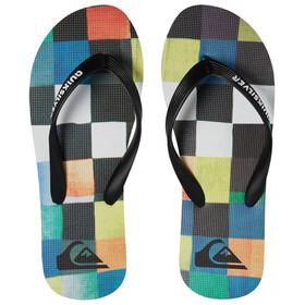 Quiksilver Molokai Resin Check Sandals Herren black/blue/green